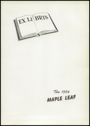 Page 5, 1954 Edition, Hornell High School - Maple Leaf Yearbook (Hornell, NY) online yearbook collection