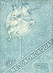 1951 Edition, Irondequoit High School - Neodaondaquat Yearbook (Rochester, NY)