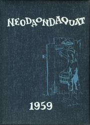 1959 Edition, Irondequoit High School - Neodaondaquat Yearbook (Rochester, NY)
