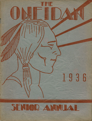 1936 Edition, Oneida High School - Oneidan Yearbook (Oneida, NY)