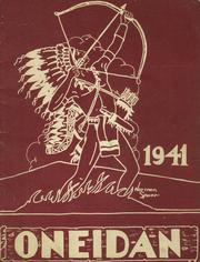 1941 Edition, Oneida High School - Oneidan Yearbook (Oneida, NY)