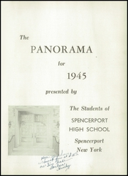 Page 5, 1945 Edition, Spencerport Central High School - Panorama Yearbook (Spencerport, NY) online yearbook collection