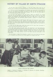Page 15, 1956 Edition, North Syracuse High School - Northmen Yearbook (North Syracuse, NY) online yearbook collection