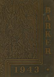 1943 Edition, Plattsburgh High School - Barker Yearbook (Plattsburgh, NY)