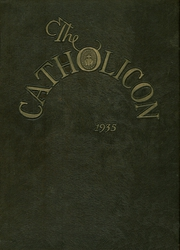 1935 Edition, Catholic Central High School - Catholicon Yearbook (Troy, NY)