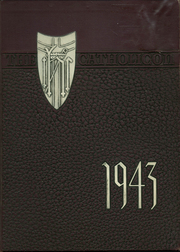 1943 Edition, Catholic Central High School - Catholicon Yearbook (Troy, NY)