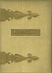 1950 Edition, Catholic Central High School - Catholicon Yearbook (Troy, NY)