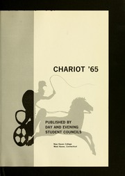 Page 5, 1965 Edition, University of New Haven - Chariot Yearbook (West Haven, CT) online yearbook collection