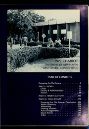 Page 5, 1979 Edition, University of New Haven - Chariot Yearbook (West Haven, CT) online yearbook collection