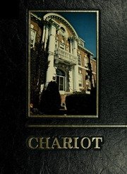 1982 Edition, University of New Haven - Chariot Yearbook (West Haven, CT)