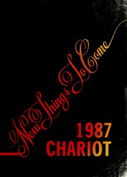 1987 Edition, University of New Haven - Chariot Yearbook (West Haven, CT)