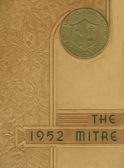 Page 1, 1952 Edition, Bishop McDonnell Memorial High School - Mitre Yearbook (Brooklyn, NY) online yearbook collection