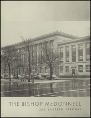 Page 6, 1952 Edition, Bishop McDonnell Memorial High School - Mitre Yearbook (Brooklyn, NY) online yearbook collection