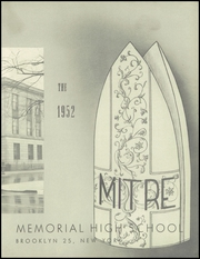 Page 7, 1952 Edition, Bishop McDonnell Memorial High School - Mitre Yearbook (Brooklyn, NY) online yearbook collection