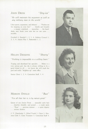 Page 17, 1947 Edition, Averill Park High School - Threshold Yearbook (Averill Park, NY) online yearbook collection