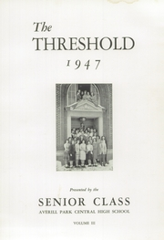 Page 7, 1947 Edition, Averill Park High School - Threshold Yearbook (Averill Park, NY) online yearbook collection