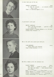Page 14, 1955 Edition, Averill Park High School - Threshold Yearbook (Averill Park, NY) online yearbook collection