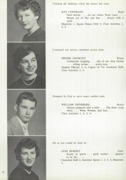 Page 16, 1955 Edition, Averill Park High School - Threshold Yearbook (Averill Park, NY) online yearbook collection
