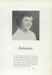 Page 7, 1955 Edition, Averill Park High School - Threshold Yearbook (Averill Park, NY) online yearbook collection
