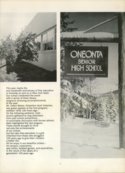 Page 7, 1968 Edition, Oneonta High School - Oneonta Yearbook (Oneonta, NY) online yearbook collection