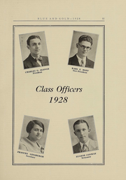 Page 13, 1928 Edition, Hudson High School - Blue and Gold Yearbook (Hudson, NY) online yearbook collection