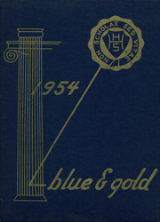 Page 1, 1954 Edition, Hudson High School - Blue and Gold Yearbook (Hudson, NY) online yearbook collection
