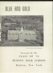 Page 5, 1954 Edition, Hudson High School - Blue and Gold Yearbook (Hudson, NY) online yearbook collection