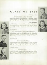 Page 10, 1940 Edition, Penn Yann Academy - Key Yearbook (Penn Yan, NY) online yearbook collection