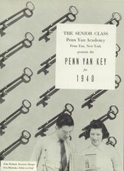 Page 5, 1940 Edition, Penn Yann Academy - Key Yearbook (Penn Yan, NY) online yearbook collection