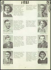 Page 13, 1951 Edition, Penn Yann Academy - Key Yearbook (Penn Yan, NY) online yearbook collection