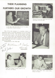 Page 9, 1955 Edition, Penn Yann Academy - Key Yearbook (Penn Yan, NY) online yearbook collection