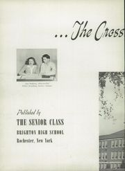 Page 6, 1945 Edition, Brighton High School - Crossroads Yearbook (Rochester, NY) online yearbook collection