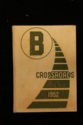 Page 1, 1952 Edition, Brighton High School - Crossroads Yearbook (Rochester, NY) online yearbook collection