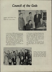 Page 11, 1952 Edition, Brighton High School - Crossroads Yearbook (Rochester, NY) online yearbook collection