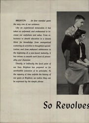 Page 6, 1952 Edition, Brighton High School - Crossroads Yearbook (Rochester, NY) online yearbook collection