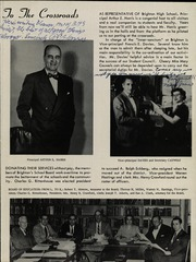 Page 13, 1954 Edition, Brighton High School - Crossroads Yearbook (Rochester, NY) online yearbook collection