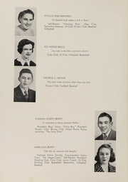 Page 12, 1939 Edition, Rye High School - Stage Coach Yearbook (Rye, NY) online yearbook collection