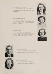Page 13, 1939 Edition, Rye High School - Stage Coach Yearbook (Rye, NY) online yearbook collection