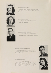 Page 16, 1939 Edition, Rye High School - Stage Coach Yearbook (Rye, NY) online yearbook collection
