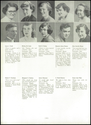 Page 16, 1952 Edition, Homer Central High School - Odyssey Yearbook (Homer, NY) online yearbook collection