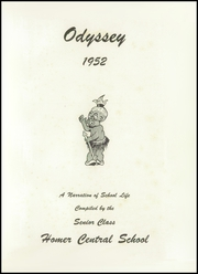 Page 5, 1952 Edition, Homer Central High School - Odyssey Yearbook (Homer, NY) online yearbook collection