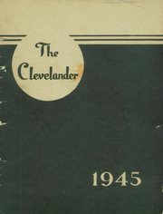 Grover Cleveland High School - Clevelander Yearbook (Buffalo, NY) online yearbook collection, 1945 Edition, Page 1