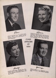 Page 16, 1954 Edition, Waverly High School - Carantouan Yearbook (Waverly, NY) online yearbook collection