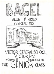 Page 9, 1955 Edition, Victor High School - Bagel Yearbook (Victor, NY) online yearbook collection