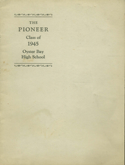 Page 1, 1945 Edition, Oyster Bay High School - Oysterette Yearbook (Oyster Bay, NY) online yearbook collection