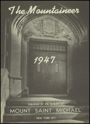 Page 5, 1947 Edition, Mount St Michael Academy - Mountaineer Yearbook (Bronx, NY) online yearbook collection