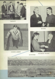 Page 10, 1957 Edition, Mount St Michael Academy - Mountaineer Yearbook (Bronx, NY) online yearbook collection