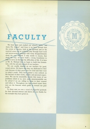 Page 15, 1957 Edition, Mount St Michael Academy - Mountaineer Yearbook (Bronx, NY) online yearbook collection