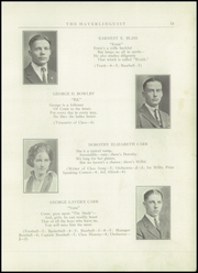 Page 13, 1924 Edition, Haverling Central High School - Haverlinguist Yearbook (Bath, NY) online yearbook collection