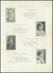 Page 17, 1924 Edition, Haverling Central High School - Haverlinguist Yearbook (Bath, NY) online yearbook collection